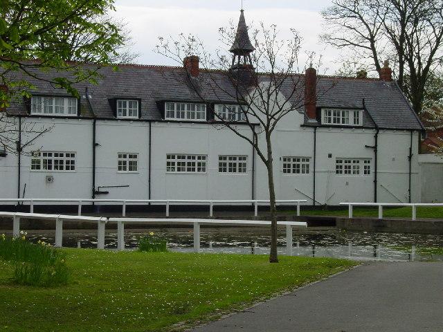Whitburn village pond