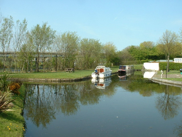 Tewitfield Basin, Lancaster Canal