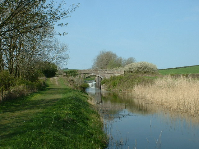 Lancaster Canal, north of Tewitfield