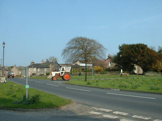 Over Kellet Village Green, near Carnforth