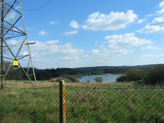 Weir Wood Reservoir Dam