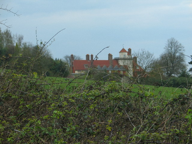 Buildings as part of Standen National Trust