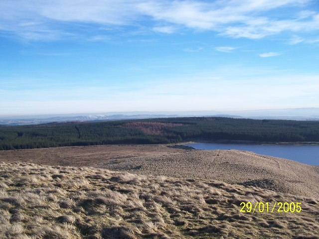 Eastern edge of Loch Glow