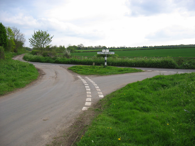 SP3614 road junction