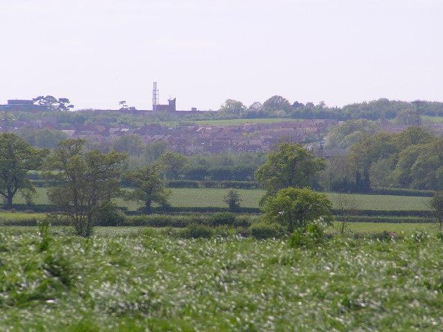 View from near Ravenshill Farm