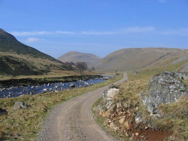Strath Dearn: River Findhorn and Am Bathach