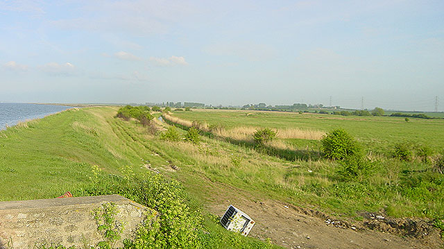 Saxon Shore Way, Elmley Ferry