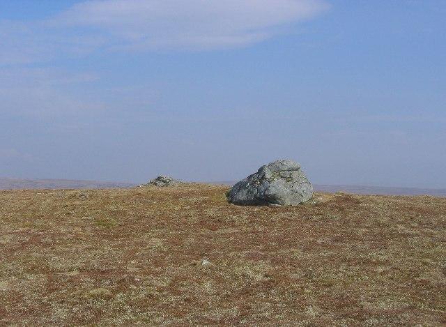 The summit of Carn Mhic Iamhair.