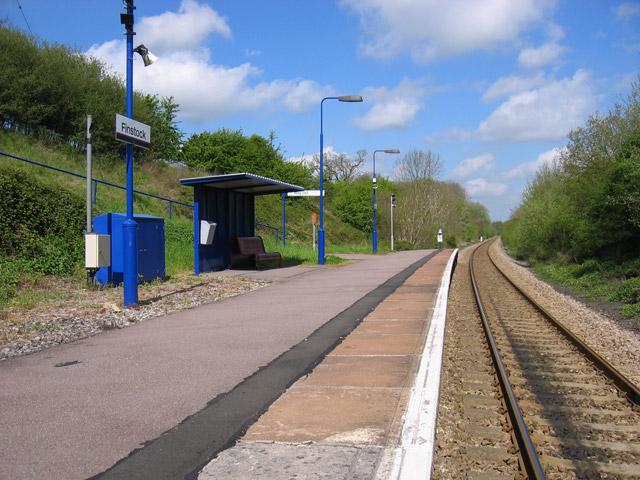 Finstock Station Halt