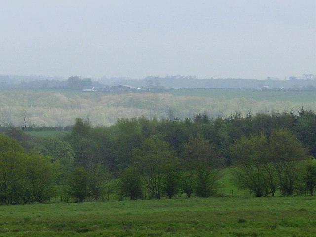 Part of the Buccleugh Estate from Prioryhill, Rowanburn