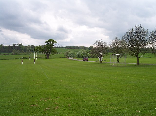 The Playing Fields of Bredon School, Pull Court, Bushley