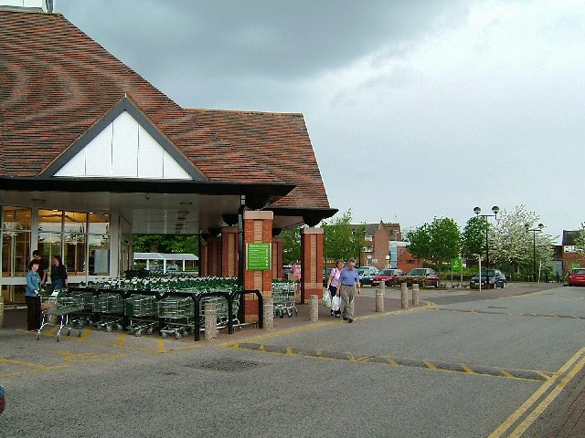 Entrance to Waitrose