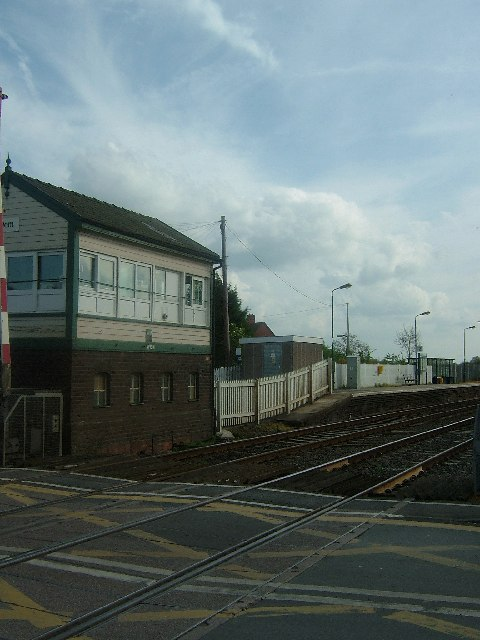 Wem Station signal box