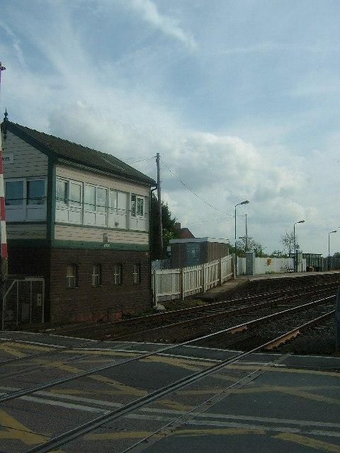 Wem Station signal box