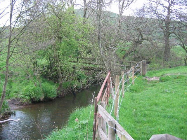 Beggar's Bridge over the River Dove