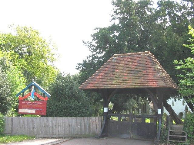 Churchyard of St Mary Parish Church, East Barnet