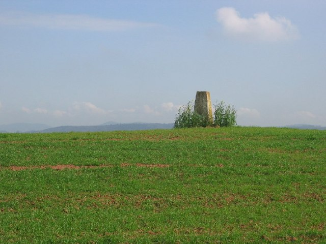 Veldt House trig point.