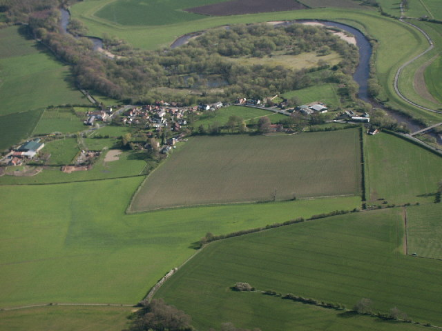 Great Langton and the River Swale