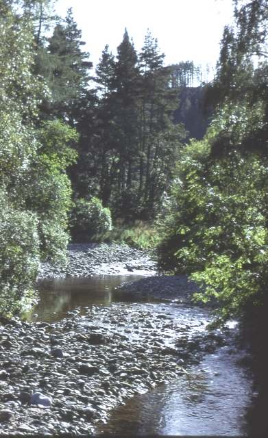 Water of Ailnack at Delnabo