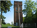 TQ2831 : Balcombe Water Tower by Darren Hill