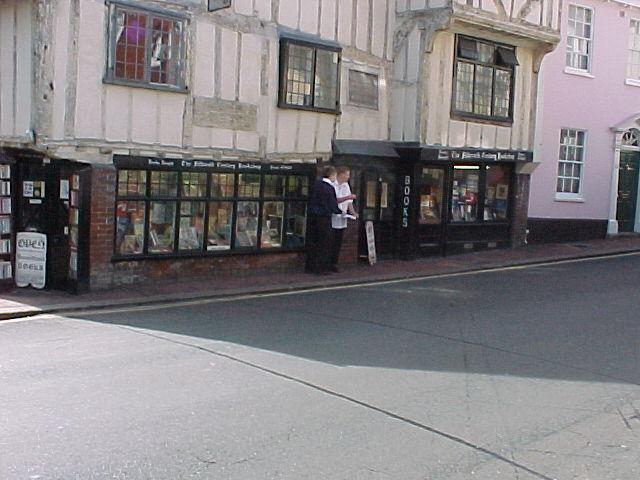 Tudor Building - Lewes High Street