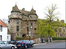 NO2507 : Falkland Palace gate by Alex Bishop