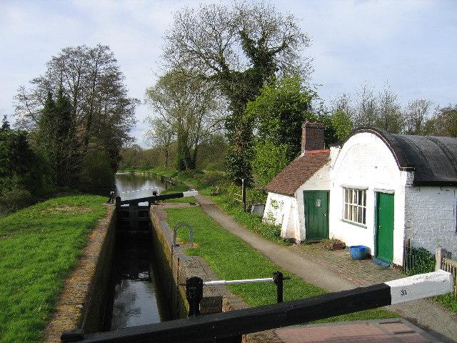 Lowsonford lock