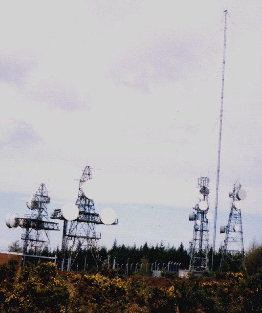 Relay Station in Aultmore Forest