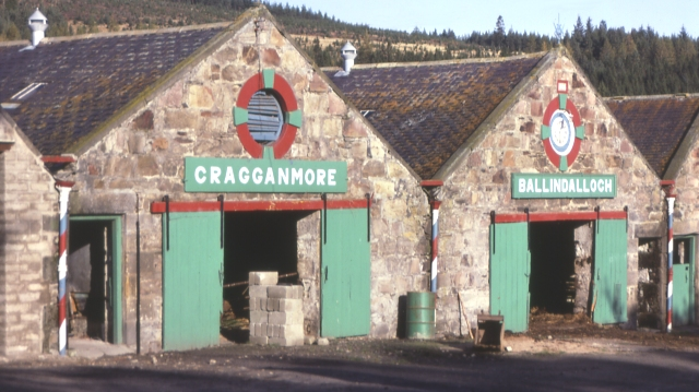 Farm steadings at Cragganmore