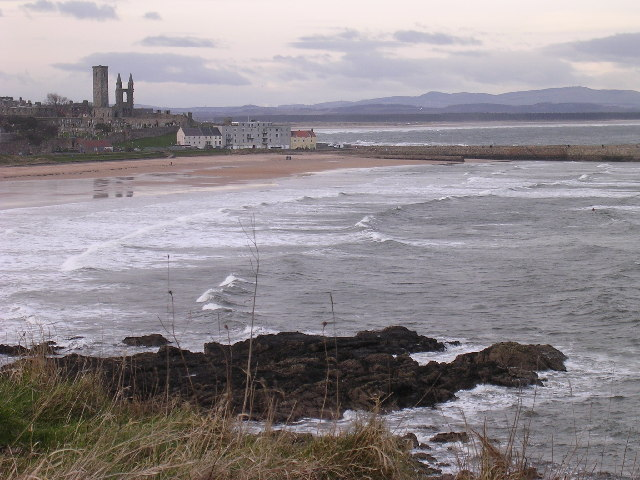 St Andrews from Kinkell Braes