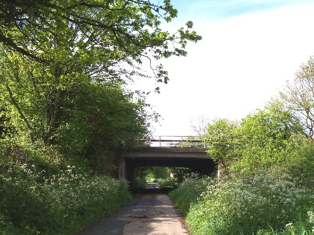 M50 Bridge over Wynd Brook Lane, Pendock Cross
