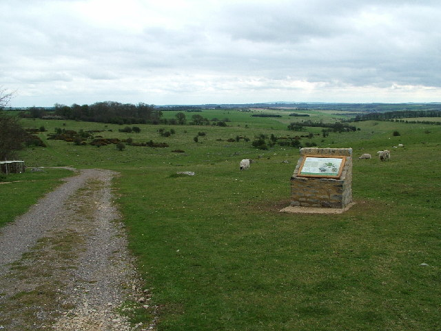 Sarsen Stones - approaching from the west