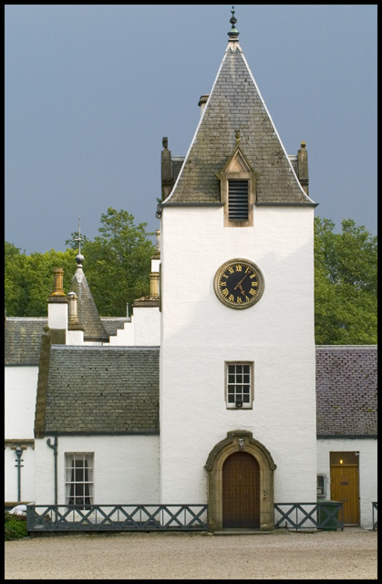 The Clock Tower at Blair Castle