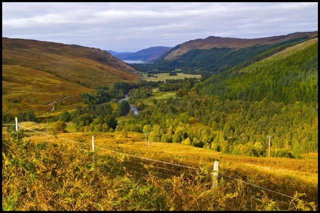 View towards Loch Broom