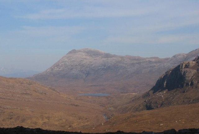 Sgurr Dubh from the Loch an Eion path.