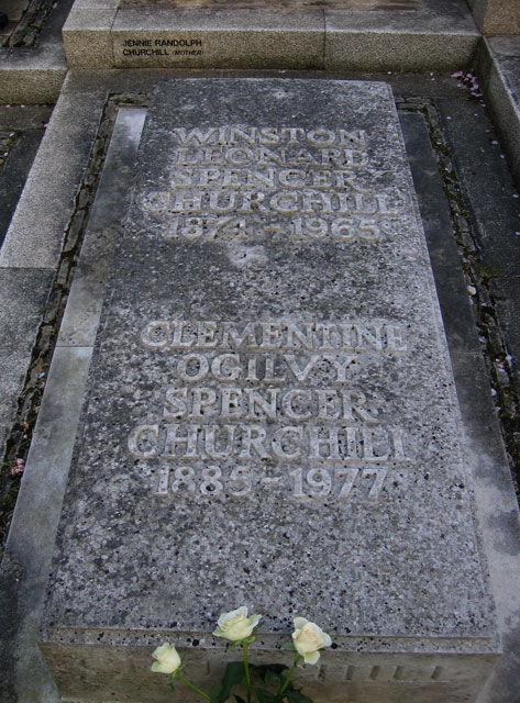 Sir Winston Churchill's Grave, Bladon