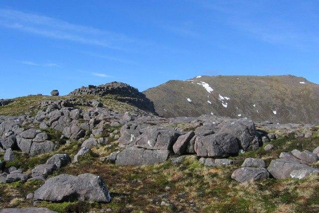 Ceann Beag summit.