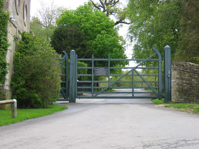 Combe Lodge Gate