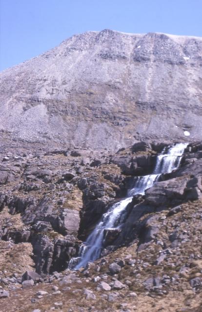 Waterfall at Coire Mhic Fhearchair