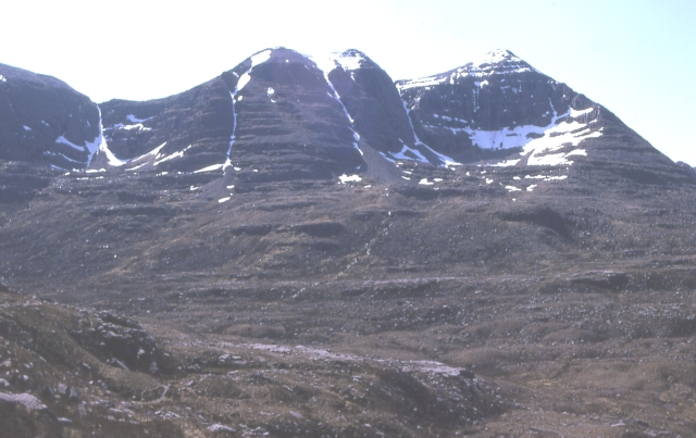 Liathach from the north