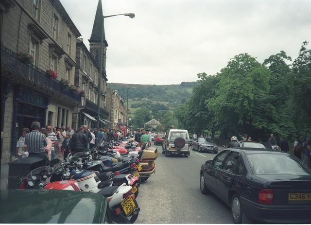 Motorbikes in Matlock bath