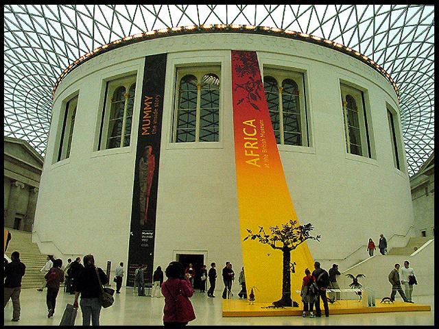 British Museum Reading Room and Special Exhibit