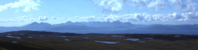 Skye from above Applecross