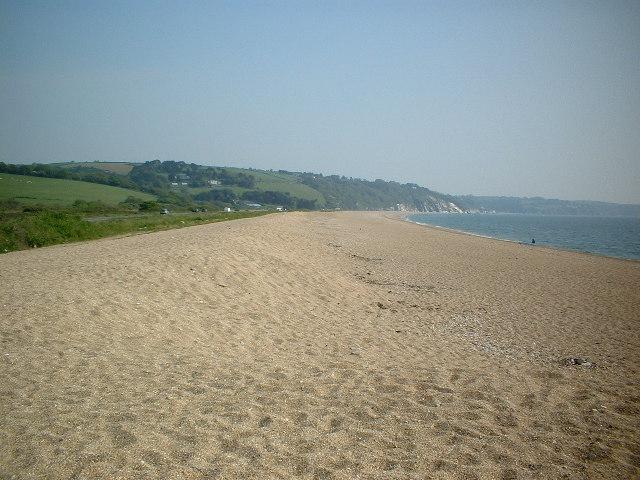 Beach replenishment on Slapton Sands