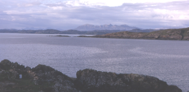 Quinag from Achnahaird