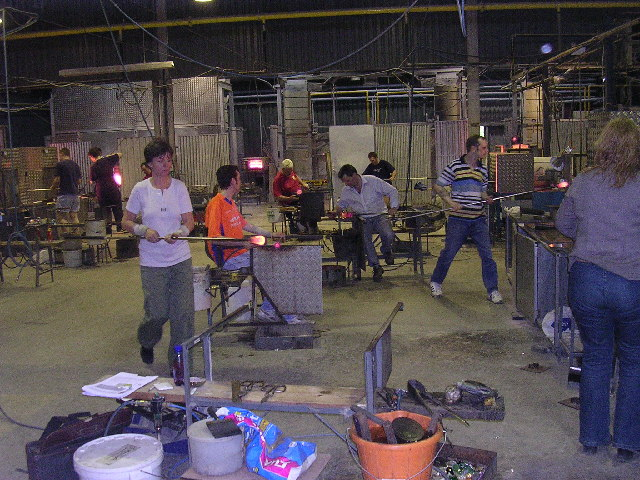 Caithness Glass factory