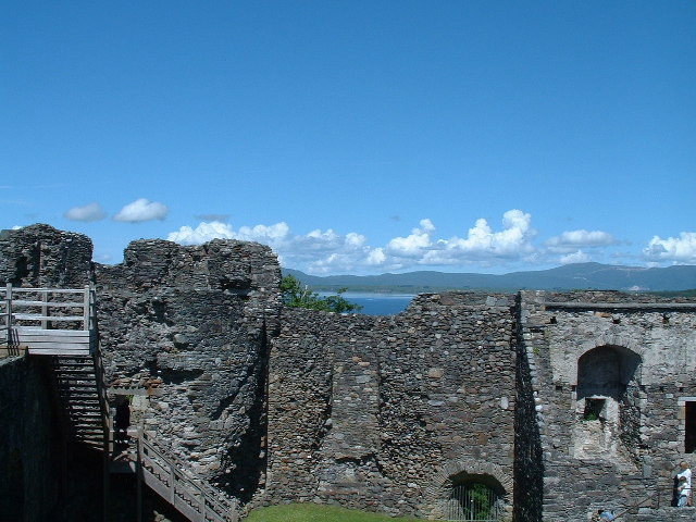 Dunstaffnage Castle near Oban