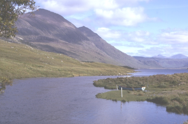 An Teallach from Loch na Sealga