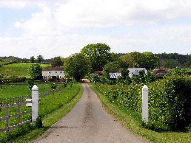 Pangfield Farm near Bucklebury
