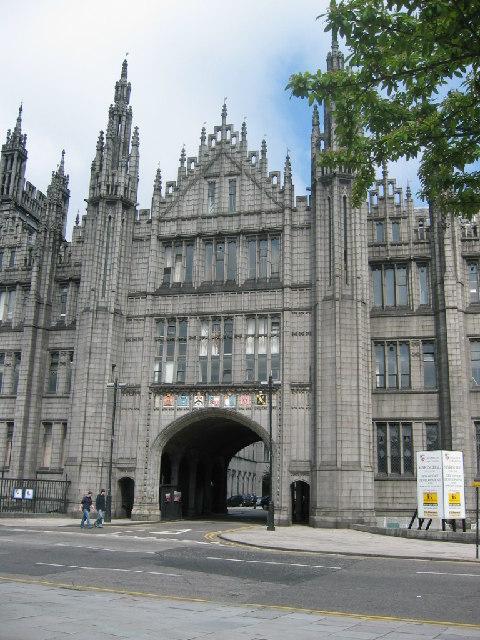 Marischal College, Broad Street, Aberdeen